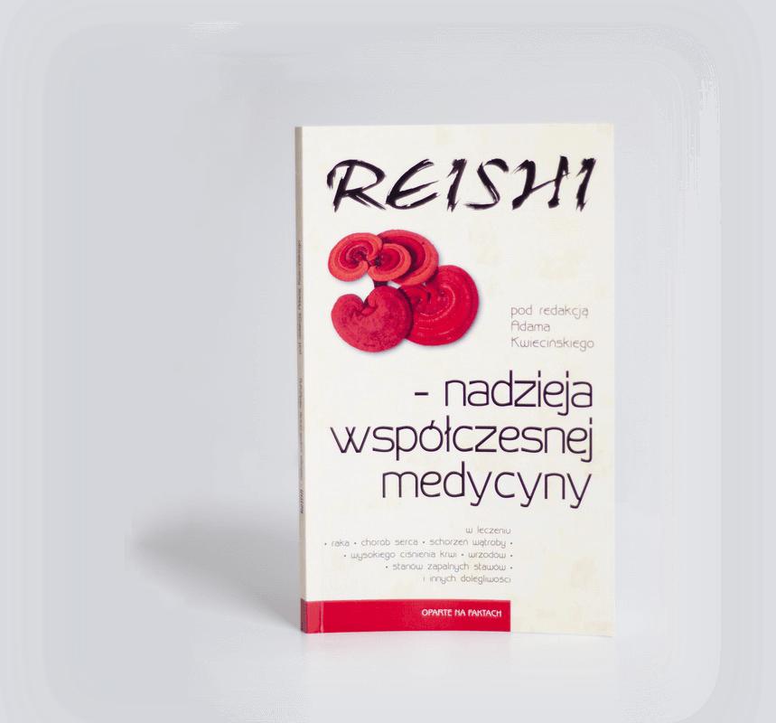 książka Reishi – Nadzieja Współczesnej Medycyny